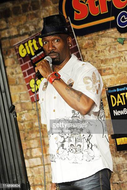 Comedian Charlie Murphy performs at The Stress Factory Comedy Club on May 27 2011 in New Brunswick New Jersey