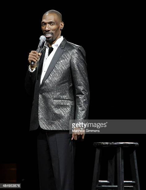 Comedian Charlie Murphy performs onstage at the The Comedy Get Down presented by 935 KDAY at The Forum on August 22 2015 in Inglewood California