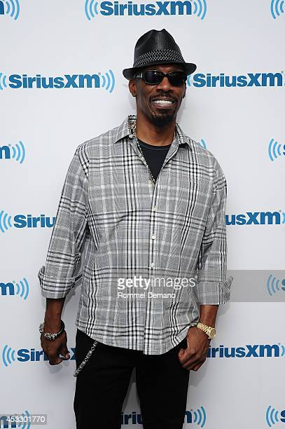 Comedian Charlie Murphy visits at SiriusXM Studios on August 7 2014 in New York City