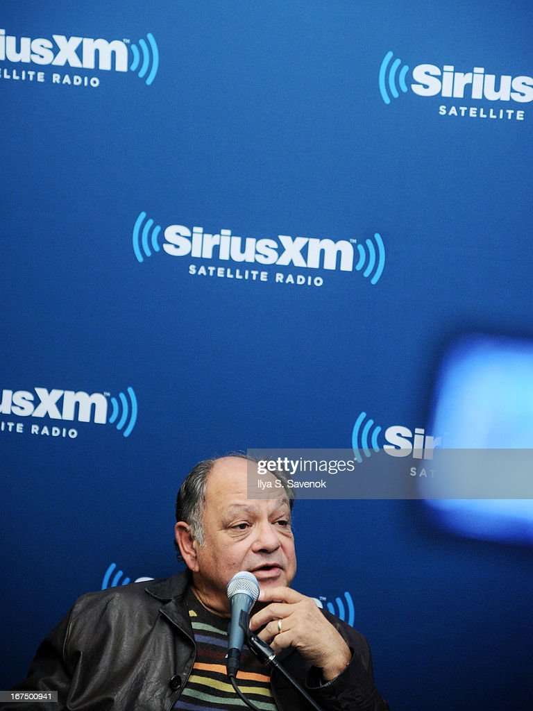 Comedian <a gi-track='captionPersonalityLinkClicked' href=/galleries/search?phrase=Cheech+Marin&family=editorial&specificpeople=211528 ng-click='$event.stopPropagation()'>Cheech Marin</a> attends 'SiriusXM's Town Hall with Cheech & Chong' moderated by Artie Lange at the SiriusXM Studios on April 25, 2013 in New York City.