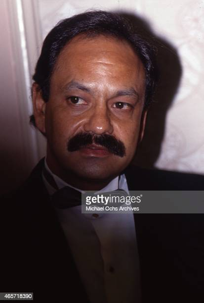 Comedian Cheech Marin attends the 19th Annual Nosotros Golden Eagle Awards at the Beverly Hilton Hotel on May 13 1988 in Beverly Hills California