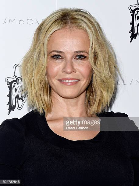 Comedian Chelsea Handler attends Stella McCartney Autumn 2016 Presentation at Amoeba Music on January 12 2016 in Los Angeles California