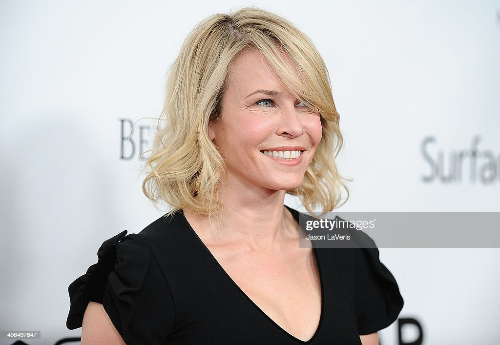 Comedian Chelsea Handler attends the amfAR Inspiration Gala at Milk Studios on December 12, 2013 in Hollywood, California.