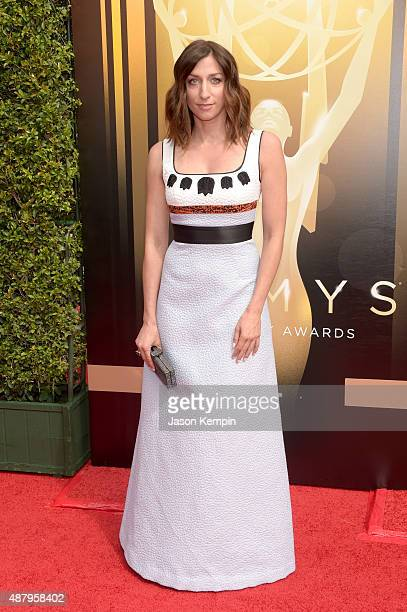 Comedian Chelsea Peretti attends the 2015 Creative Arts Emmy Awards at Microsoft Theater on September 12 2015 in Los Angeles California