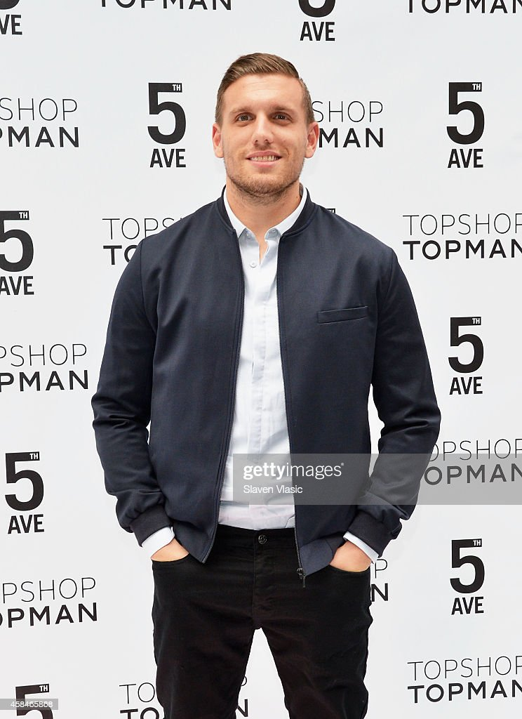 Comedian Chris DiStefano attends the Topshop Topman flagship store opening at Topshop Topman Flagship Store on November 5, 2014 in New York City.