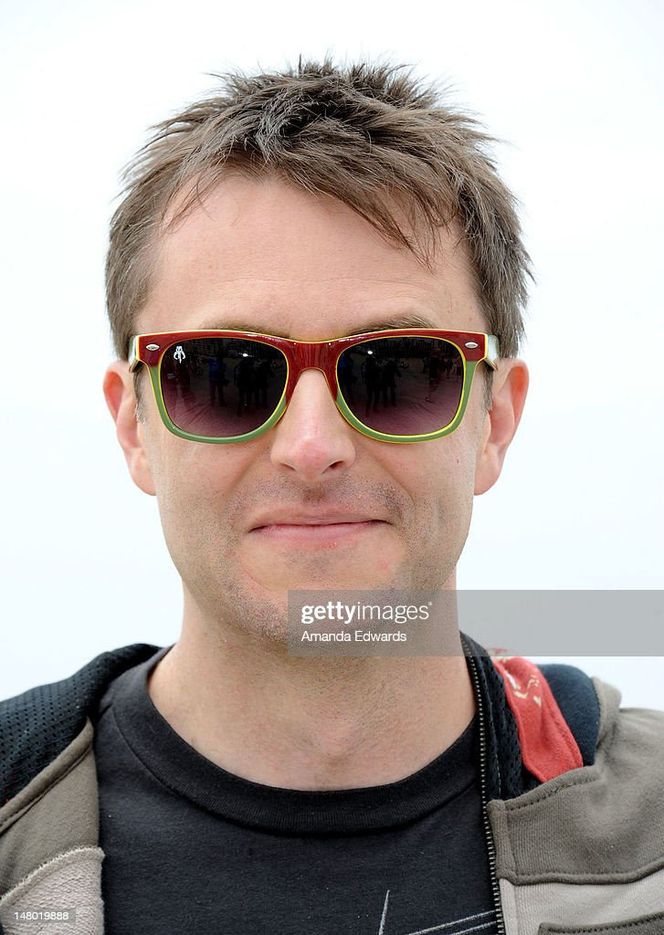 Comedian <a gi-track='captionPersonalityLinkClicked' href=/galleries/search?phrase=Chris+Hardwick&family=editorial&specificpeople=960855 ng-click='$event.stopPropagation()'>Chris Hardwick</a> attends Course of The Force - Inaugural 'Star Wars' Lightsaber Relay at Santa Monica Pier on July 7, 2012 in Santa Monica, California.