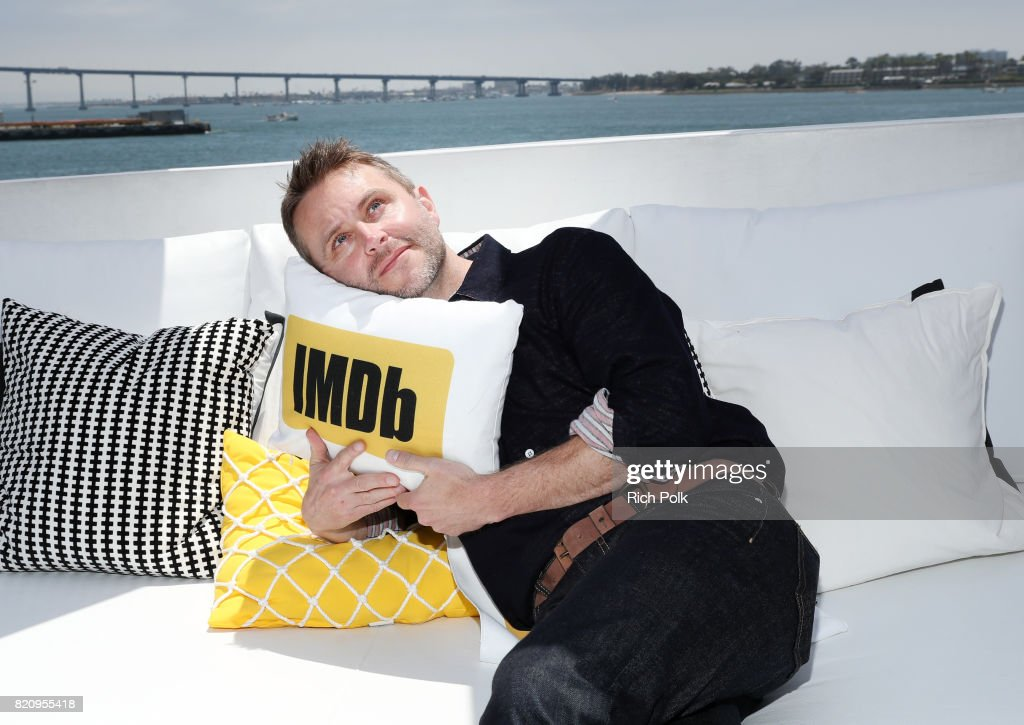 Comedian Chris Hardwick on the #IMDboat at San Diego Comic-Con 2017 at The IMDb Yacht on July 22, 2017 in San Diego, California.