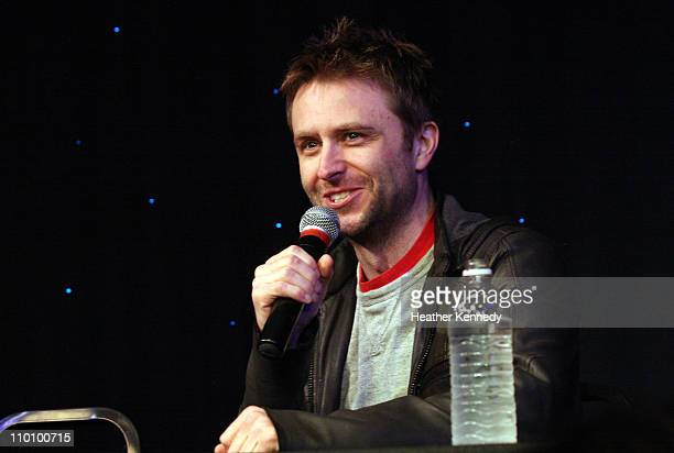 Comedian Chris Hardwick speaks at the 2011 SXSW Music Film Interactive Festival The Nerdist With Chris Hardwick Live Podcast Taping at Esther's...