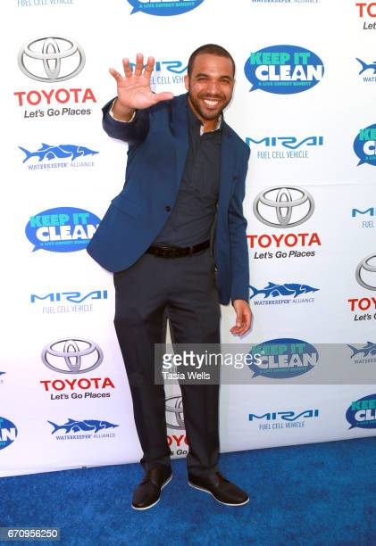 Comedian Chris Jones attends Keep it Clean Live Comedy Benefit for Waterkeeper Alliance at Avalon Hollywood on April 20 2017 in Los Angeles California