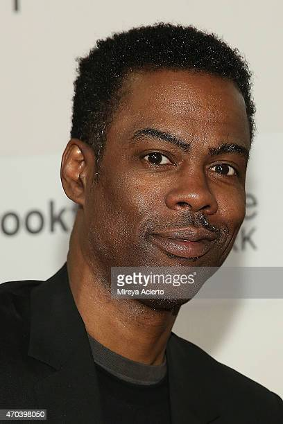 Comedian Chris Rock and dancer Victoria Rowell attend the 2015 Tribeca Film Festival at BMCC Tribeca PAC on April 19 2015 in New York City