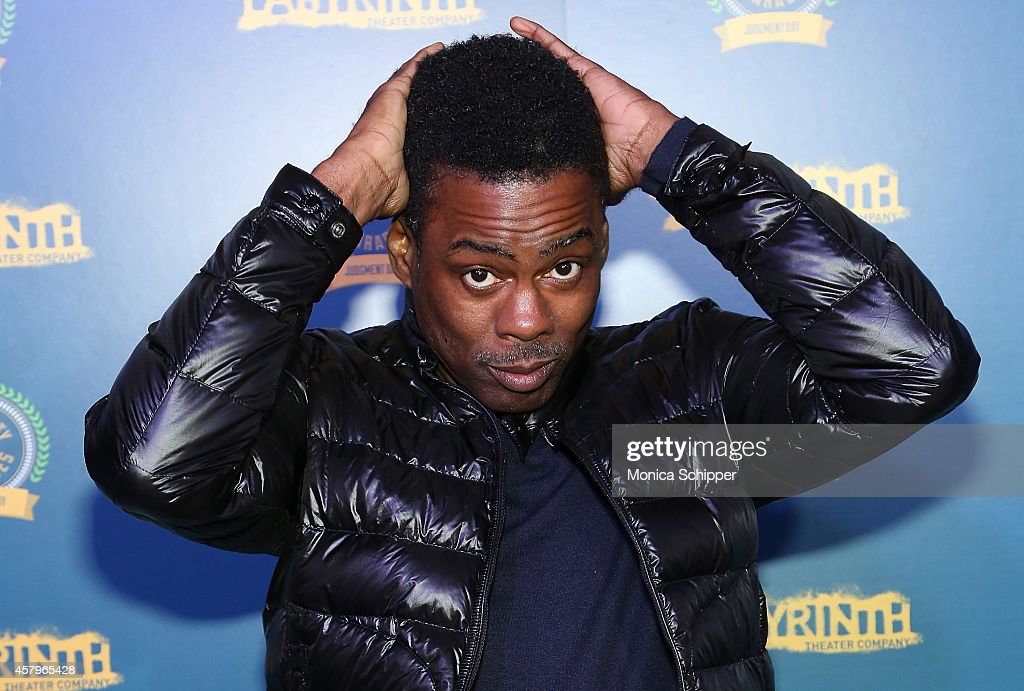 Comedian <a gi-track='captionPersonalityLinkClicked' href=/galleries/search?phrase=Chris+Rock&family=editorial&specificpeople=202982 ng-click='$event.stopPropagation()'>Chris Rock</a> attends Celebrity Charades 2014: Judgment Day at Capitale on October 27, 2014 in New York City.