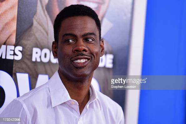 Comedian Chris Rock attends the 'Grown Ups 2' New York Premiere at AMC Lincoln Square Theater on July 10 2013 in New York City