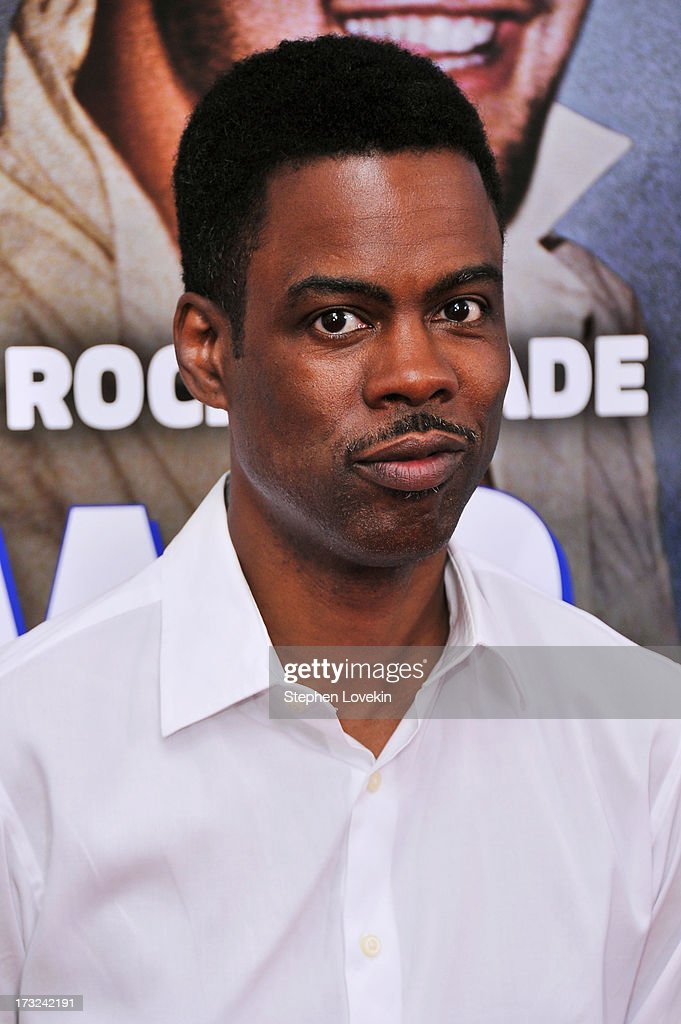 Comedian Chris Rock attends the 'Grown Ups 2' New York Premiere at AMC Lincoln Square Theater on July 10, 2013 in New York City.