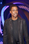 Comedian Chris Rock visits 106 Park at BET studio on May 14 2014 in New York City