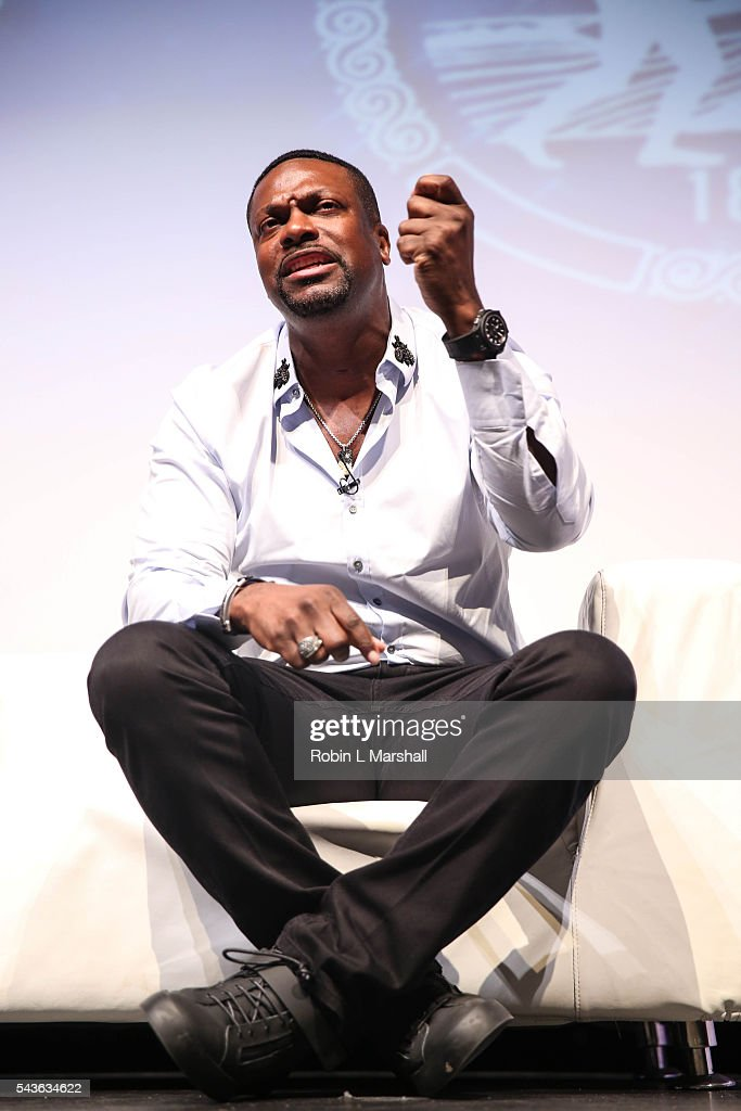 Comedian <a gi-track='captionPersonalityLinkClicked' href=/galleries/search?phrase=Chris+Tucker&family=editorial&specificpeople=203254 ng-click='$event.stopPropagation()'>Chris Tucker</a> attends the 2016 Dream Symposium at Porter Sanford III Performing Arts & Community Center on June 29, 2016 in Decatur, Georgia.