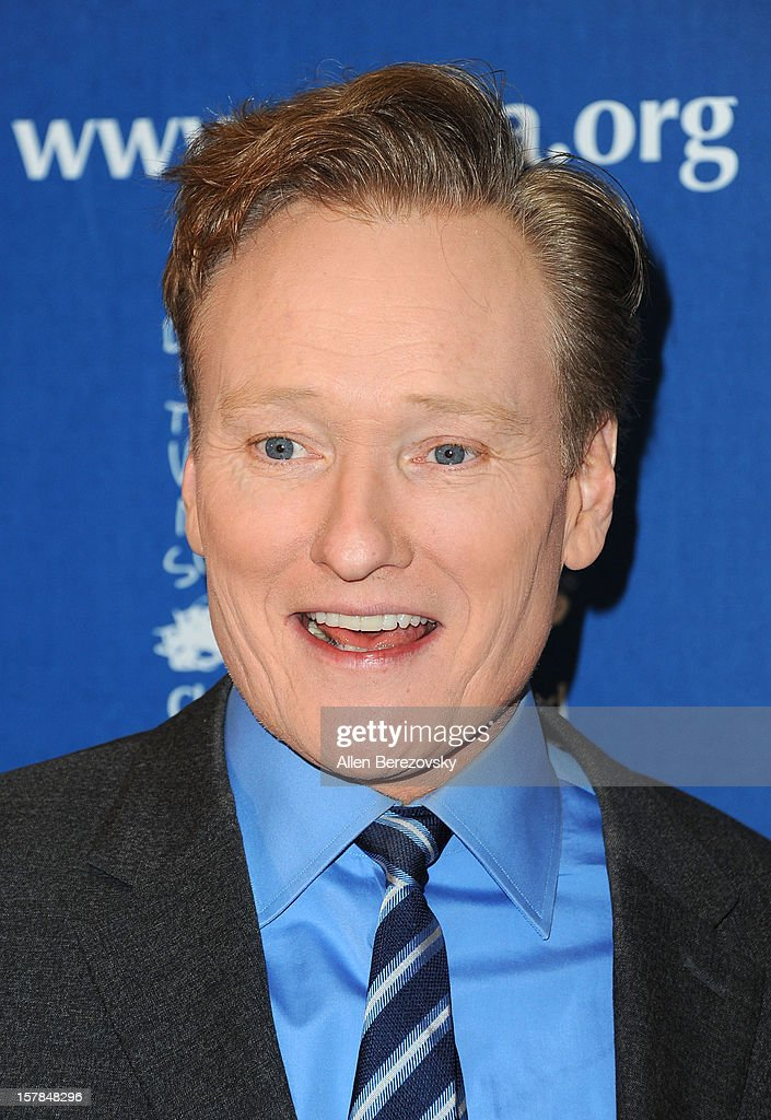 Comedian Conan O'Brien arrives at the Chrildren's Defense Fund of California 22nd Annual Beat The Odds Awards at Beverly Hills Hotel on December 6, 2012 in Beverly Hills, California.