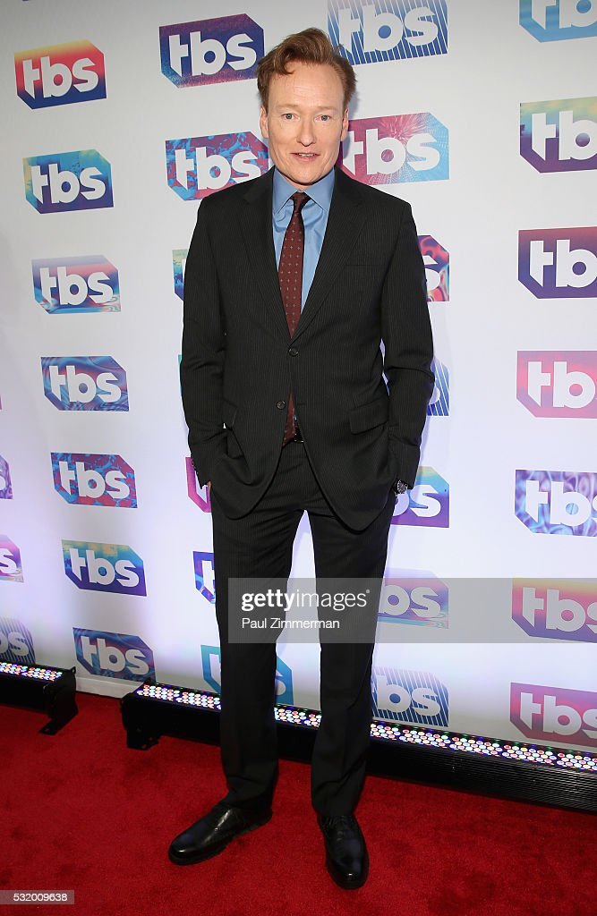 Comedian Conan O'Brien attends TBS Night Out at The New Museum on May 17 2016 in New York City