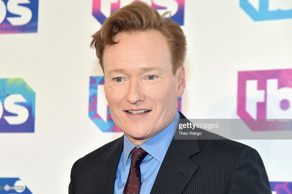 Comedian Conan O'Brien attends TBS's A Night Out With FYC Event at The New Museum on May 17 2016 in New York City
