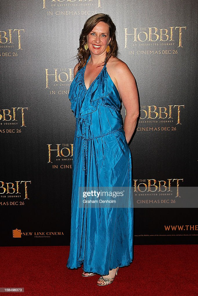 Comedian Corinne Grant attends the Melbourne premiere of 'The Hobbit: An Unexpected Journey' at Village Cinemas on December 18, 2012 in Melbourne, Australia.