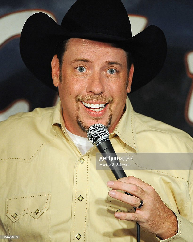 Comedian Cowboy Billy Martin performs during his appearance at The Ice House Comedy Club on October 19, 2012 in Pasadena, California.