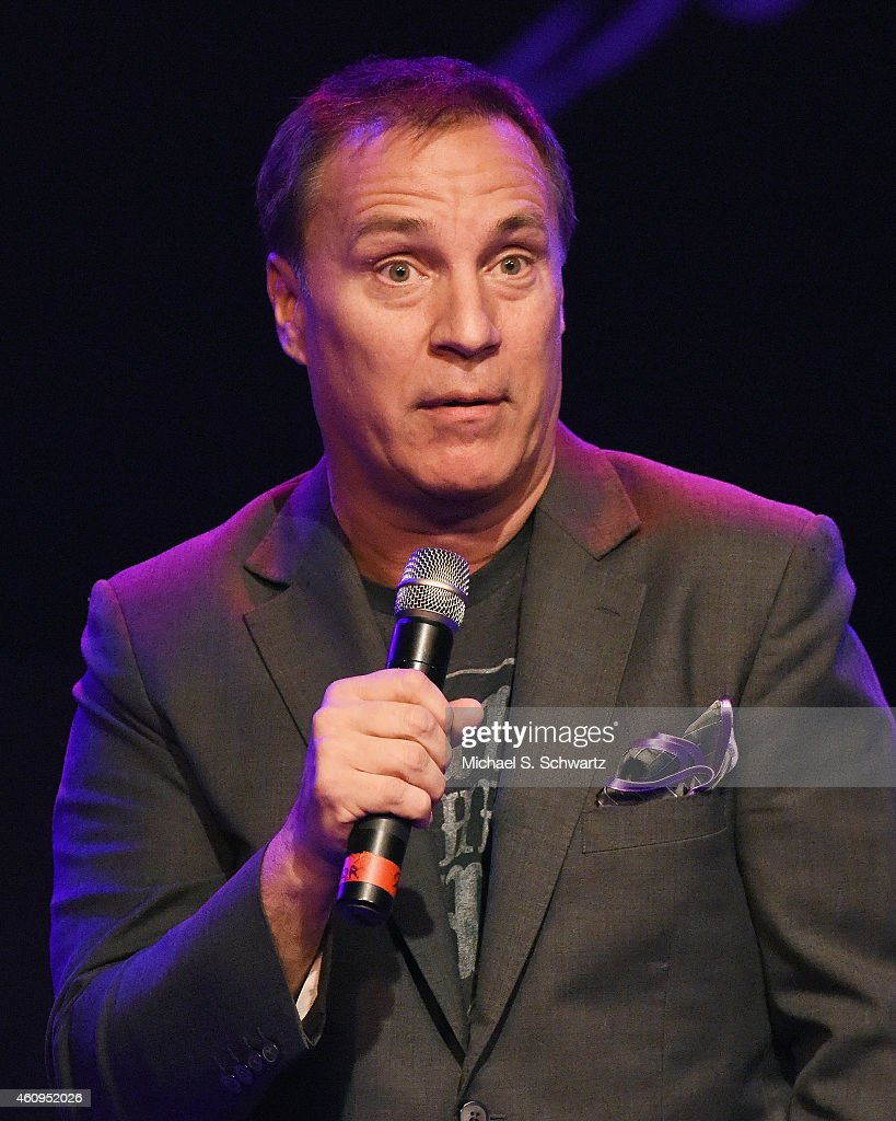 Comedian Craig Shoemaker performs during his appearance at The Canyon Club on December 31, 2014 in Agoura Hills, California.