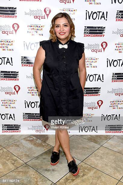 Comedian Cristela Alonzo attends 'I Am An Immigrant A Celebration Of Our Stories' a live performance celebrating immigrants and the immigrant...