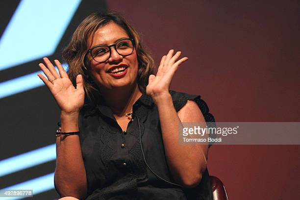 Comedian Cristela Alonzo attends the Latino In America held at Occidental College on October 15 2015 in Los Angeles California