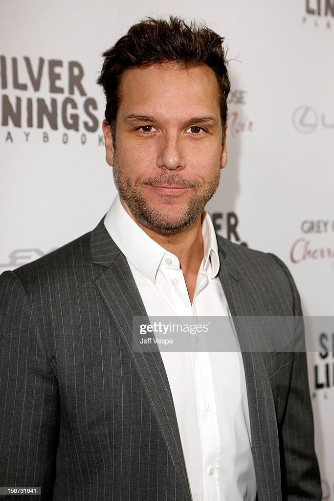 Comedian Dane Cook attends a special screening of 'Silver Linings Playbook' presented by The Weinstein Company sponsored by Grey Goose and Lexus at AMPAS Samuel Goldwyn Theater on November 19, 2012 in Beverly Hills, California.