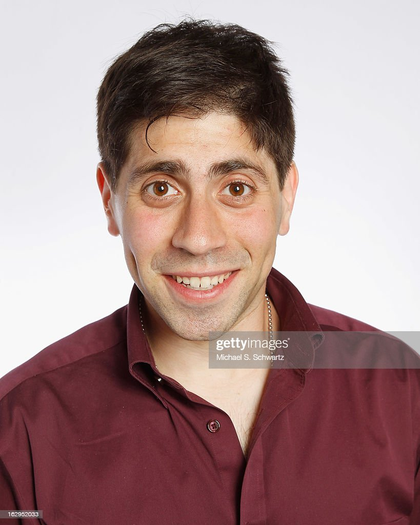 Comedian Danny Jolles poses after his performance at The Ice House Comedy Club on March 1, 2013 in Pasadena, California.