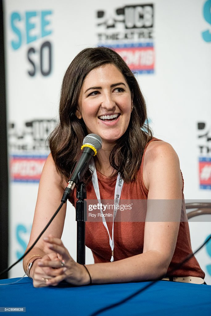 Comedian D'Arcy Carden attends the 18th Annual Del Close Improv Comedy Marathon Press Conference at Upright Citizens Brigade Theatre on June 24, 2016 in New York City.