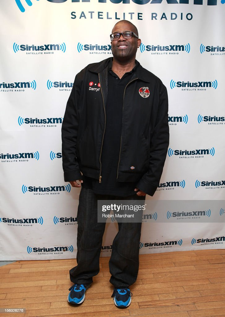 Comedian Darryl Lenox visits the SiriusXM Studios on November 13, 2012 in New York City.