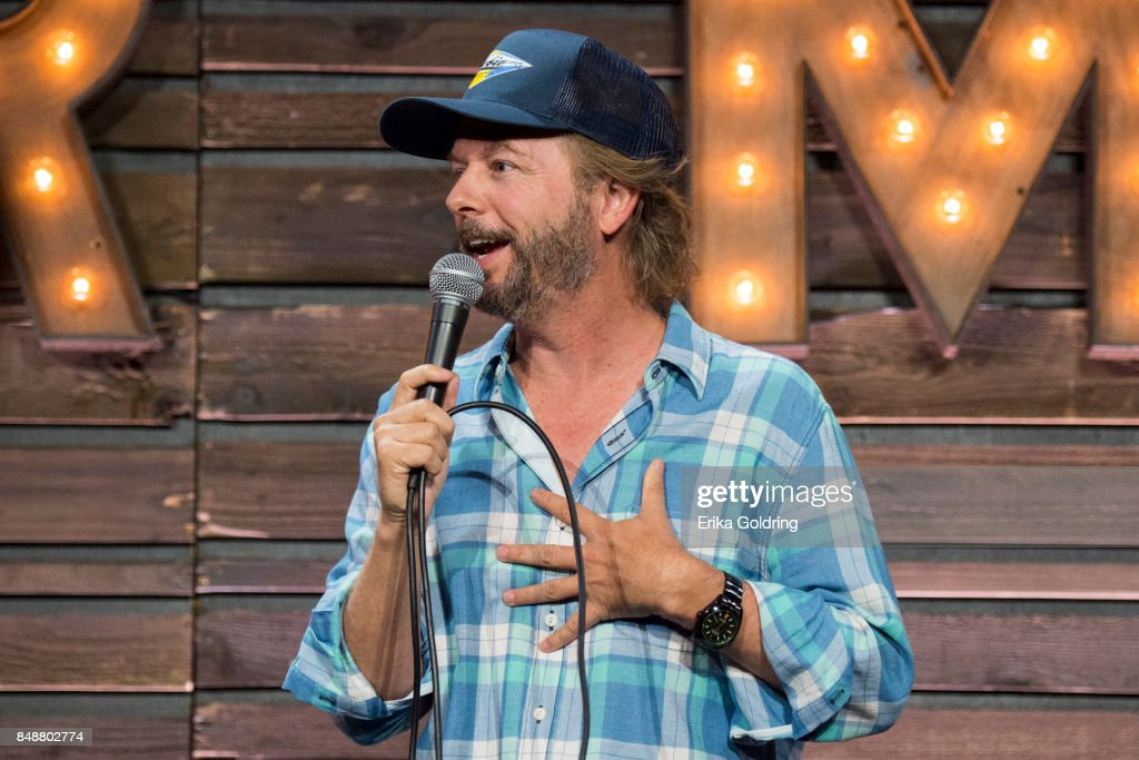 Comedian David Spade performs during KAABOO Del Mar at the Del Mar Fairgrounds on September 17, 2017 in Del Mar, California.