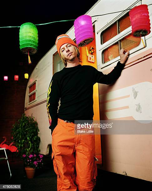Comedian David Spade photographed in 2001 for Parade Magazine in Los Angeles California PUBLISHED IMAGE