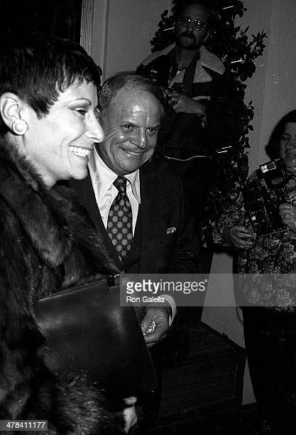 Comedian Don Rickles and wife Barbara attend the 22nd Annual Grammy Awards After Party Hosted by Warner Bros Records on February 27 1980 at Chasen's...