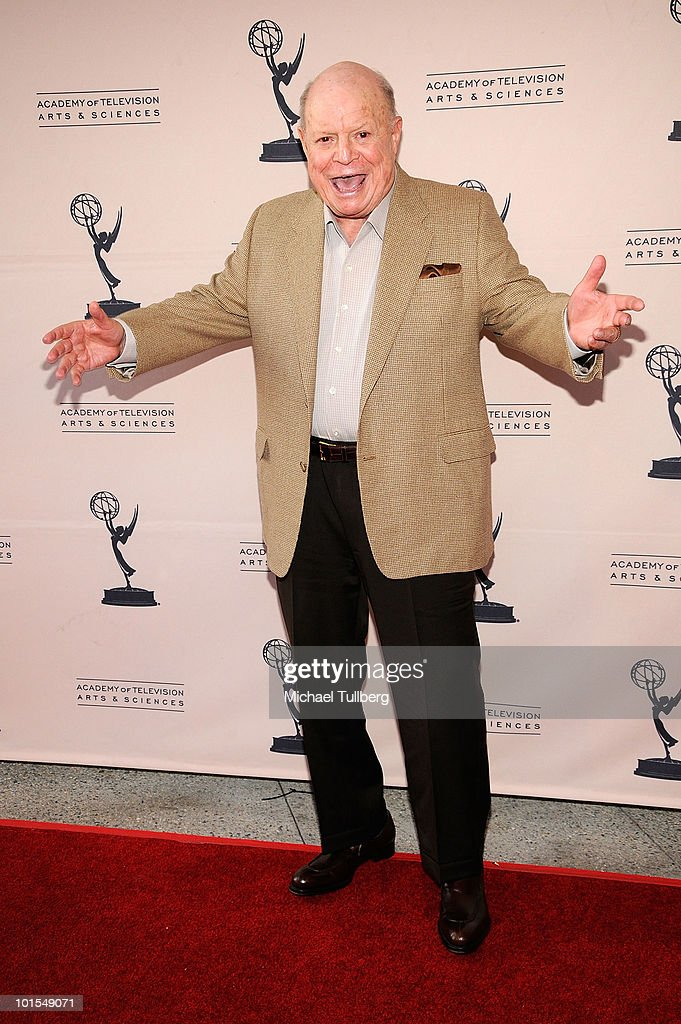 Comedian Don Rickles arrives at the Academy Of Television's 'Bob Newhart Celebrates 50 Years In Show Business' event at the Leonard H. Goldenson Theatre on June 1, 2010 in North Hollywood, California.