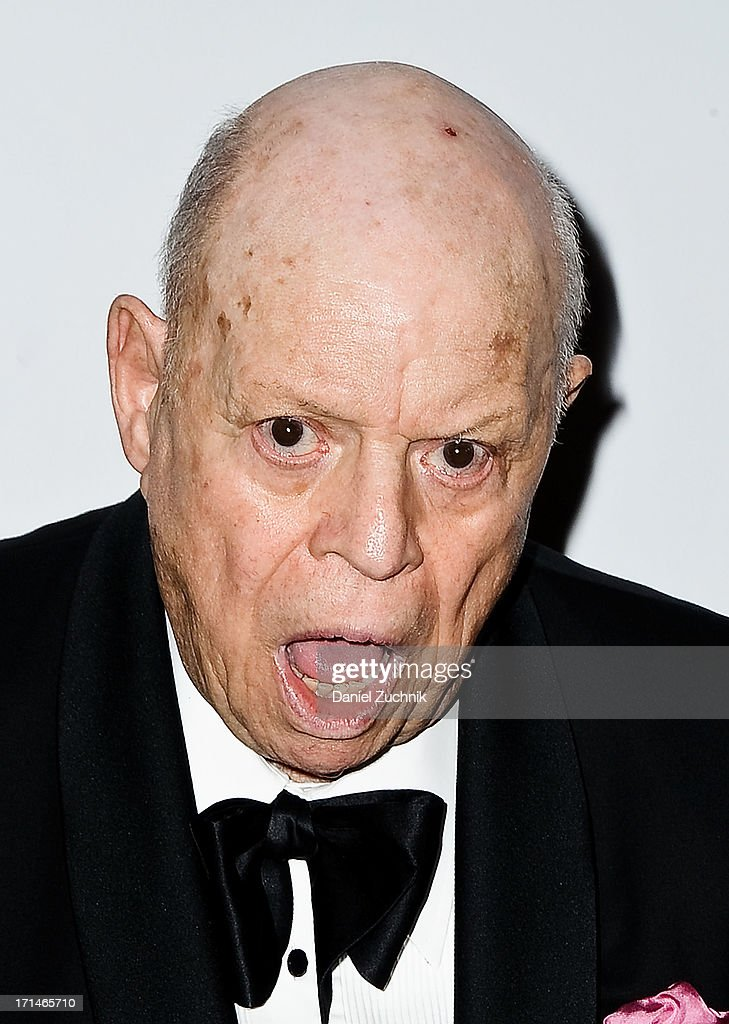 Comedian <a gi-track='captionPersonalityLinkClicked' href=/galleries/search?phrase=Don+Rickles&family=editorial&specificpeople=1474774 ng-click='$event.stopPropagation()'>Don Rickles</a> attends The Friars Foundation 2013 Applause Award Gala honoring <a gi-track='captionPersonalityLinkClicked' href=/galleries/search?phrase=Don+Rickles&family=editorial&specificpeople=1474774 ng-click='$event.stopPropagation()'>Don Rickles</a> at The Waldorf Astoria on June 24, 2013 in New York City.
