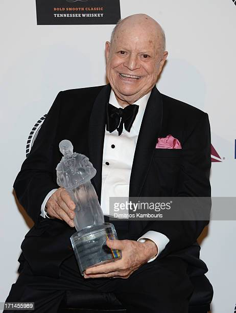 Comedian Don Rickles attends The Friars Foundation Annual Applause Award Gala at The Waldorf=Astoria on June 24 2013 in New York City
