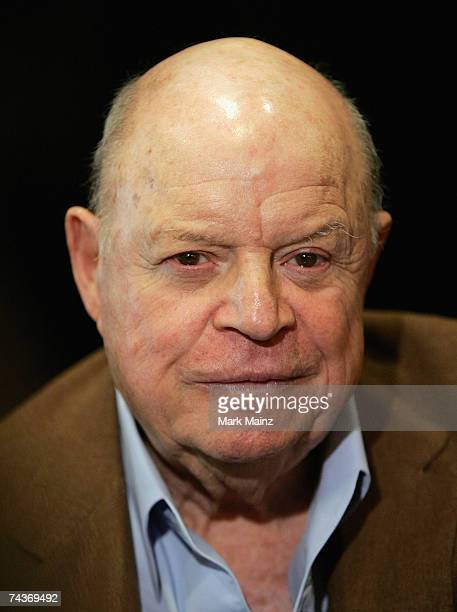 Comedian Don Rickles poses before signing copies of his new book ''Rickle's Book'' at Book Soup on May 31 2007 in West Hollywood California