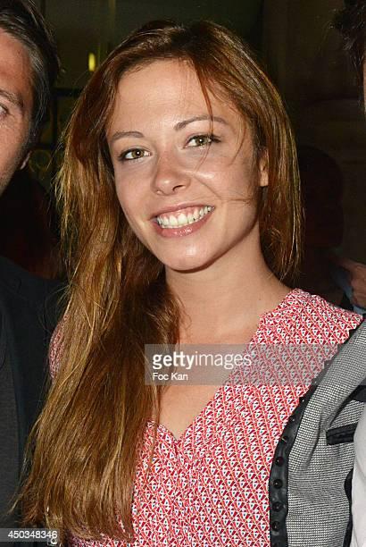 Comedian Dounia Coesens attends 'La Boumette' Party at L'Opera Restaurant on June 7 2014 in Paris France