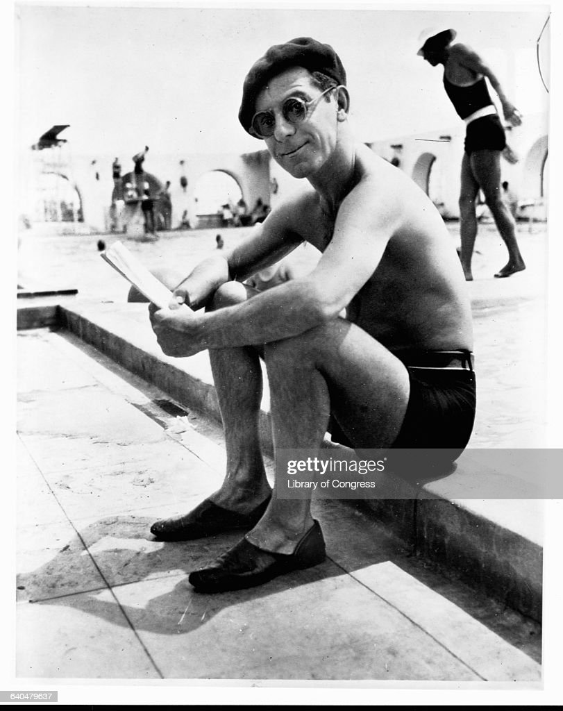 Comedian <a gi-track='captionPersonalityLinkClicked' href=/galleries/search?phrase=Eddie+Cantor&family=editorial&specificpeople=93329 ng-click='$event.stopPropagation()'>Eddie Cantor</a> at Palm Springs