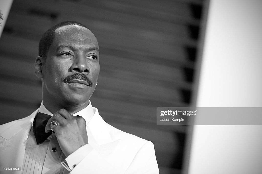 Comedian Eddie Murphy attends the 2015 Vanity Fair Oscar Party at Wallis Annenberg Center for the Performing Arts on February 22 2015 in Beverly...