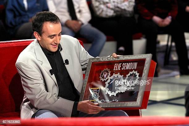 Comedian Elie Semoun