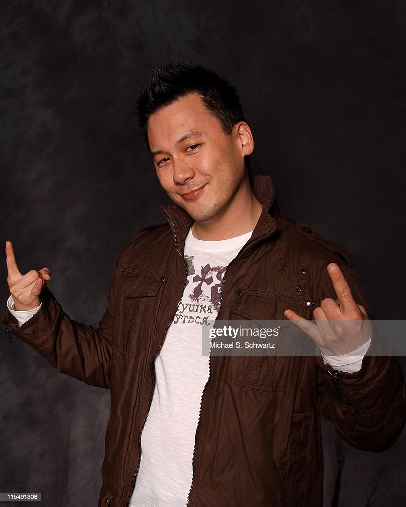 Comedian Eliot Chang poses at the Hollywood Improv on February 28 2008 in Hollywood California