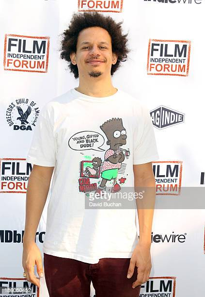 Comedian Eric André attends the Film Independent forum at the DGA Theater on October 27 2013 in Los Angeles California