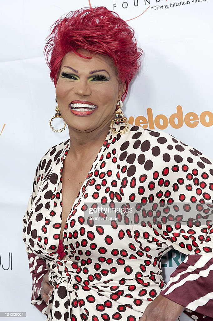 Comedian Flame Monroe attends the 23rd Annual HIV/AIDS benefit concert DIVAS Simply Singing! at Club Nokia on October 12, 2013 in Los Angeles, California.