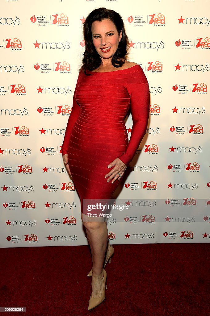 Comedian <a gi-track='captionPersonalityLinkClicked' href=/galleries/search?phrase=Fran+Drescher&family=editorial&specificpeople=201602 ng-click='$event.stopPropagation()'>Fran Drescher</a> attends The American Heart Association's Go Red For Women Red Dress Collection 2016 Presented By Macy's at The Arc, Skylight at Moynihan Station on February 11, 2016 in New York City.
