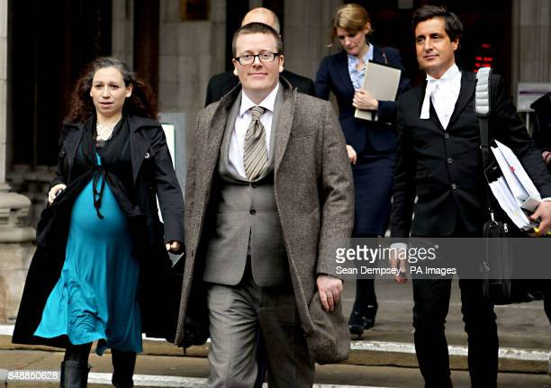 Comedian Frankie Boyle leaves the high Court after winning more than more than pound54000 damages today after a High Court jury concluded that he had...