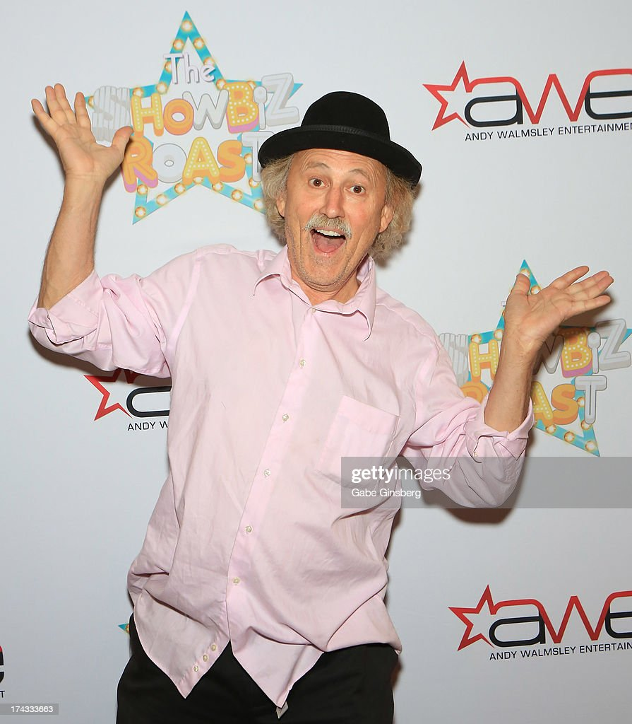 Comedian Gallagher arrives at the 'Showbiz Roast of Oscar Goodman' at the Stratosphere Casino Hotel on July 23, 2013 in Las Vegas, Nevada.