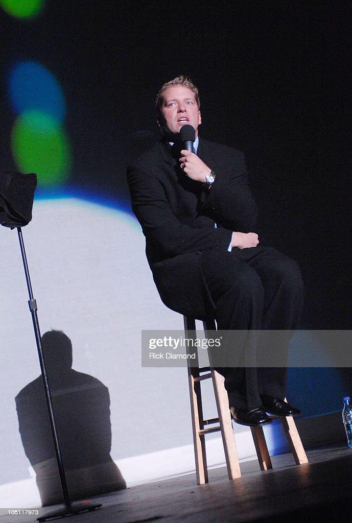 Comedian Gary Owens during Kiss 1041 Hosts 'The Tom Joyner Sky Show' in Atlanta at Atlanta Civic Center in Atlanta Georgia United States