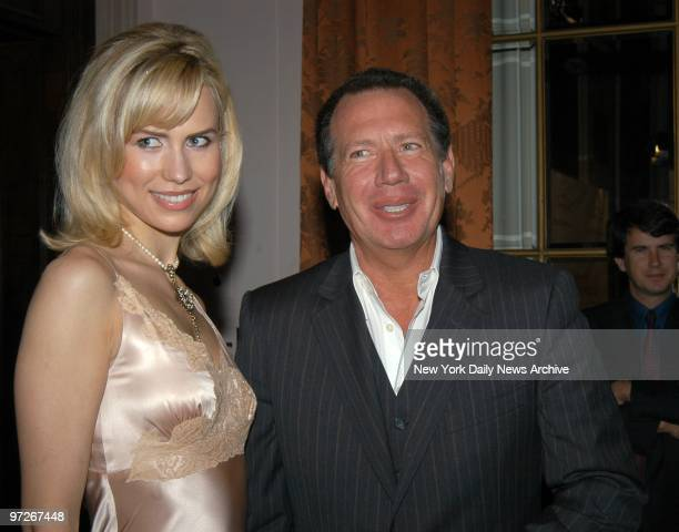 Comedian Gary Shandling and Anna Malova who was Miss Russia in 1998 are on hand for 'A Funny Thing Happened on the Way to Cure Parkinson's' at the...